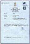 certificates water disinfection (India)